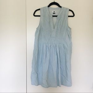 Baby Blue Babydoll Dress